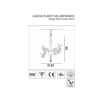 De Majo , LAGUNA PLANET K8, Suspension