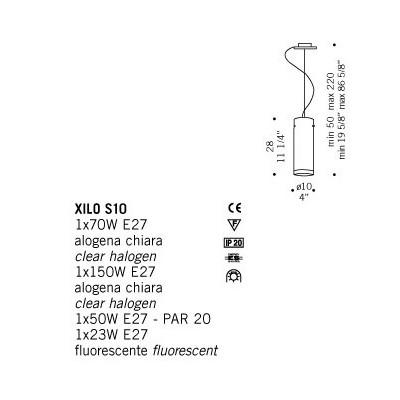 De Majo , XILO S10, Suspension