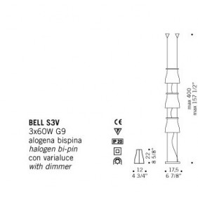 De Majo, BELL S3V, Da Terra