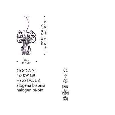 De Majo , CIOCCA S4, Suspension