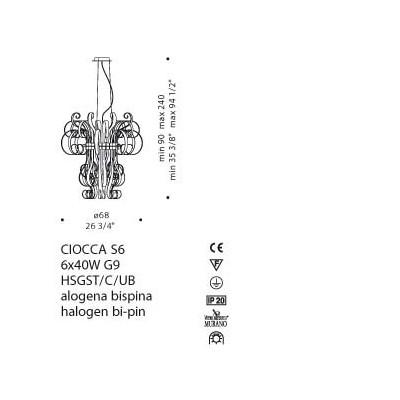 De Majo , CIOCCA S6, Suspension