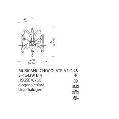 De Majo, MURICANU CHOCOLATE A2+1, Da Parete