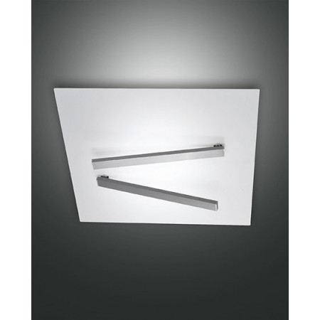 Agia Large Ceiling lamp metal frame Led 42W