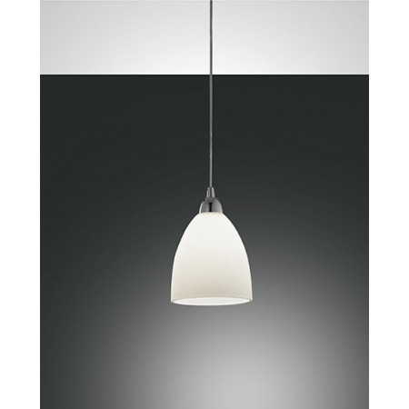 Provenza Small Suspension lamp metal frame and centrifuged glass 60W E27
