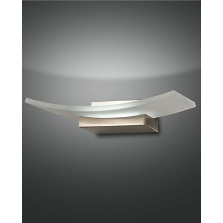 Bar Wall lamp metal frame and plate glass Led 12W