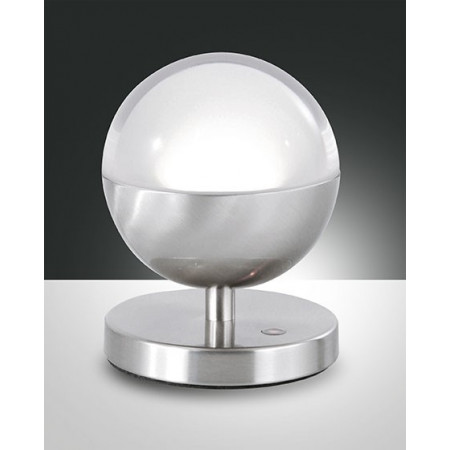 Melville Table lamp metal and methacrylate frame Led 8W