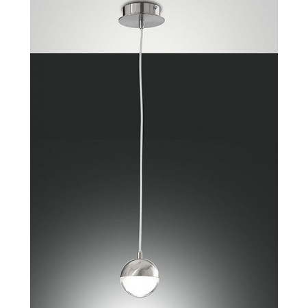 Dunk Suspension lamp metal and methacrylate frame Led 8W