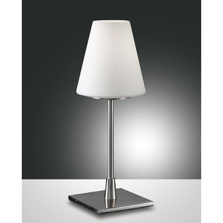 Lucy Big Table lamp metal frame and blown glass 60W E14
