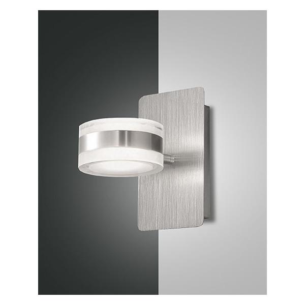 Dunk lampada da parete struttura in metallo e metacrilato Led 16W