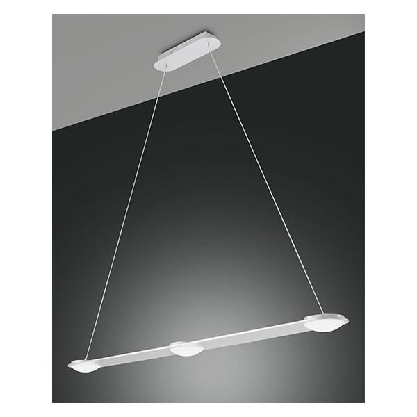 Swan lampada a sospensione struttura in metallo e metacrilato Led 24W