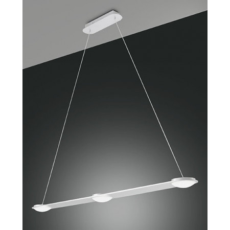 Swan Suspension lamp metal and methacrylate frame Led 24W