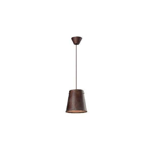 Khonus DM.30 H.28 lampada a sospensione in ferro anticato 77W E27