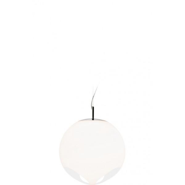 Noglobe 35 Suspension lamp in white acrylic 21W E27