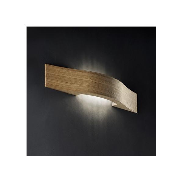 Applique Libe A55 en bois de chêne Led 11,5W 3000K