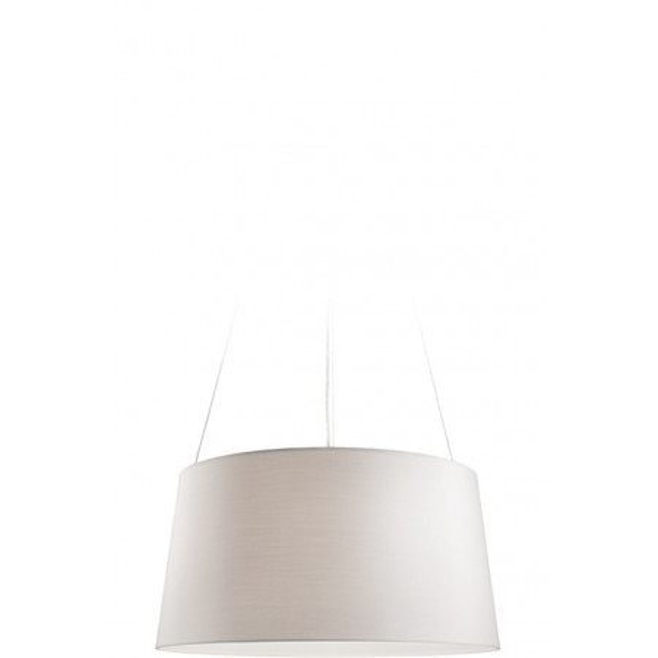 Tripod Suspension lamp fabric shade 70W E27