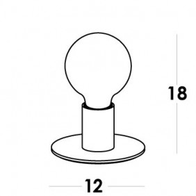 Vesoi, IDEA 12/LP ON/OFF, Da tavolo