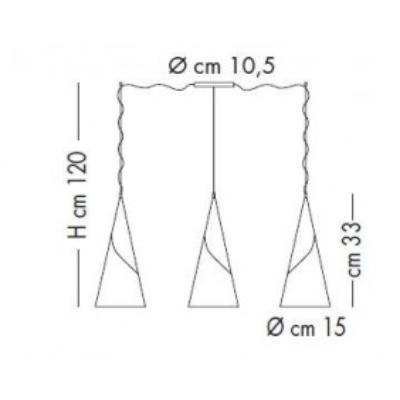 Sillux , ALBACHIARA SP 1016 / 3x15, Suspension