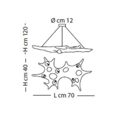 Sillux,Suspension, BAOBAB SP 1057/70S