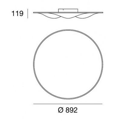 LineaLight , CIRCLE WAVE 7461, Plafond