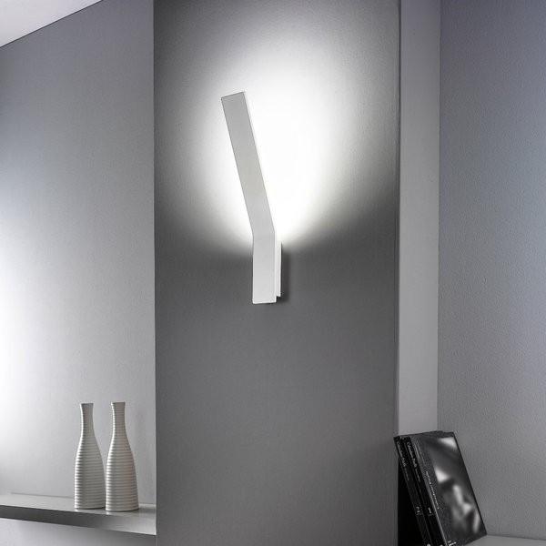 Lama 7104 lampada da parete struttura in alluminio Led 21W 3000K