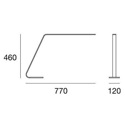 LineaLight, LAMA 7112, Da tavolo