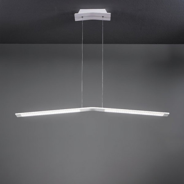 Lama 7106 lampe à suspension structure aluminium Led 45W 3000K