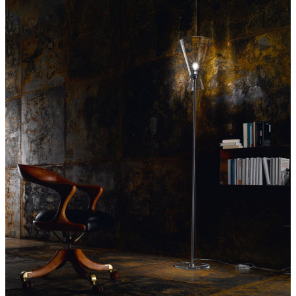 "Memory R1 SE Floor lamp diffuser in crystal ""rigadin"" 77W E27"