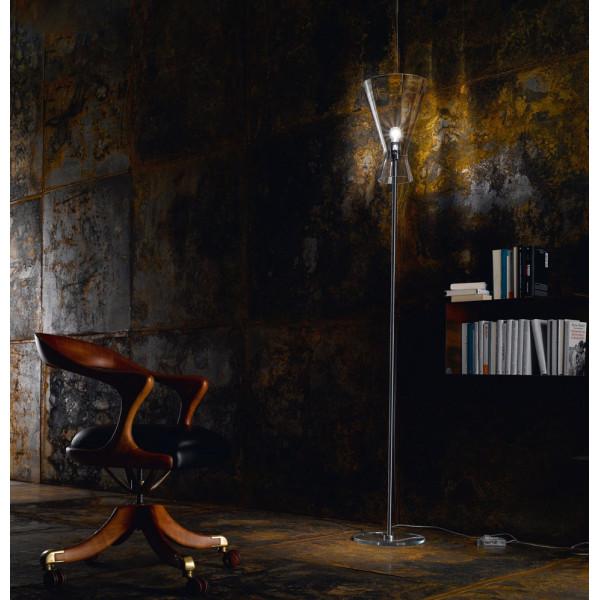 """Memory R1 SE Lampadaire diffuseur en cristal """"rigadin"""" 77W E27"""