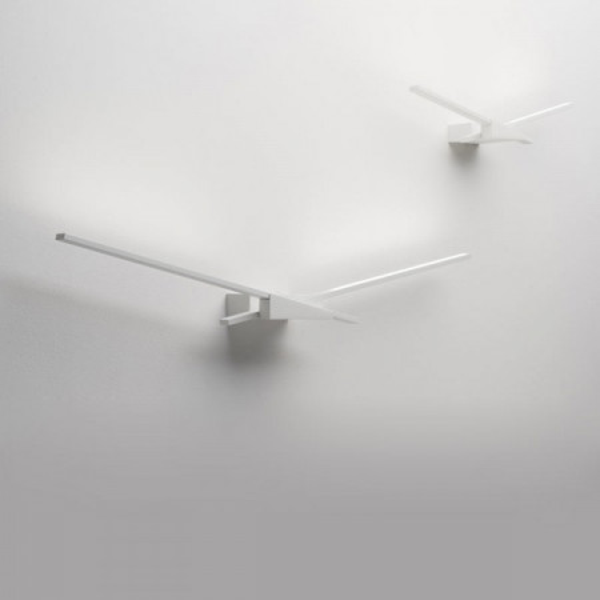 Wings 7414 lampada da parete struttura in alluminio Led 19W 3000K