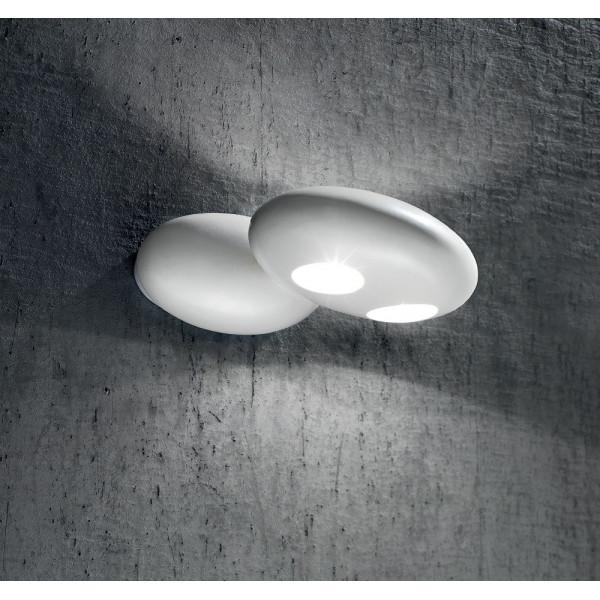 Stonehenge LP 1050/19 SX lampada da parete in ceramica smaltata 20W G4