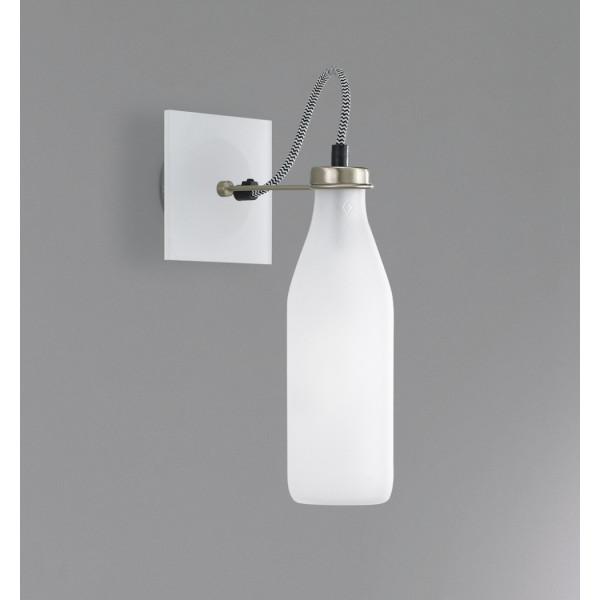 Bottles 8/AP lampada da parete diffusore in vetro sabbiato Led 4W 2700K