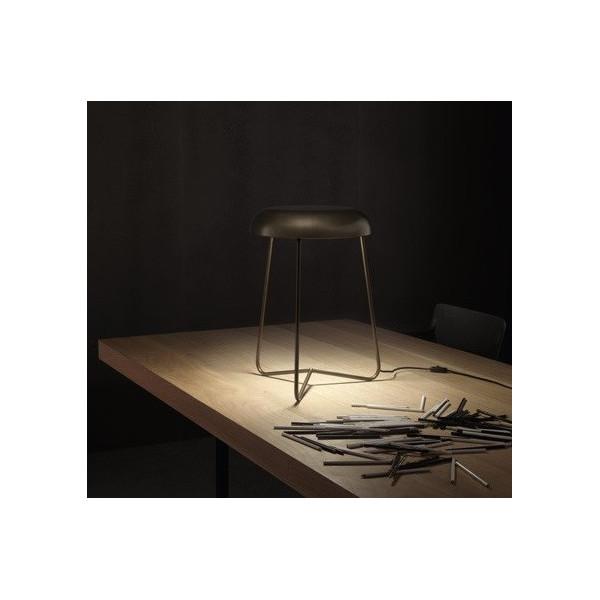 Trepiè 50/LP lampada da tavolo in acciaio Led 14W 3000K