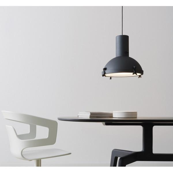 Projecteur 365 corps de lampe à suspension en aluminium peint 150W E27
