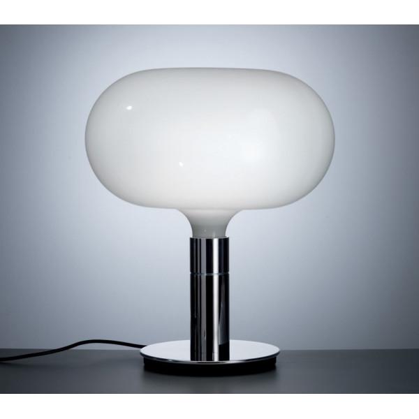 AM1N Diffuseur de lampe de table en verre blanc opalin 150W E27