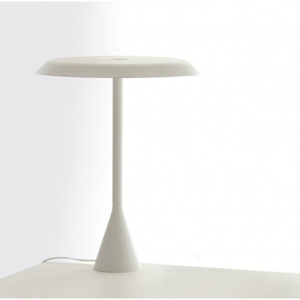 Panama lampada da tavolo struttura in alluminio con diffusore in policarbonato Led 14W 2700K