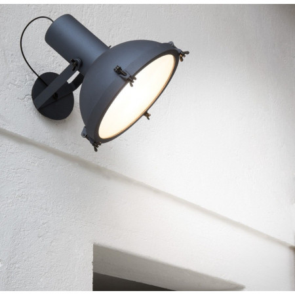 Projecteur 365 lampada da parete corpo in alluminio verniciato 150W E27