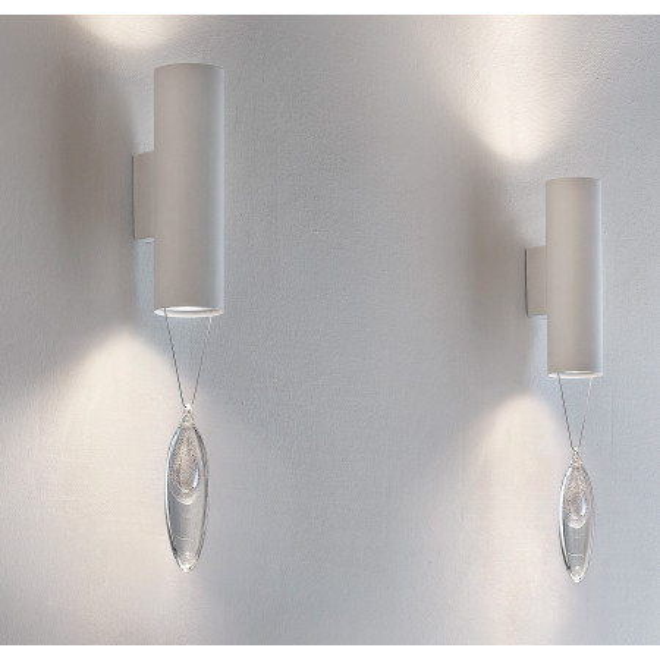 Anima A2 lampada da parete goccia sospesa di cristallo 35W GU10