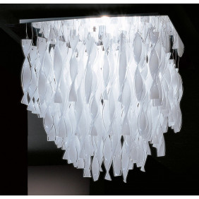 Axo Light , CADRE EN ACIER POLI PL AURA P, Plafond