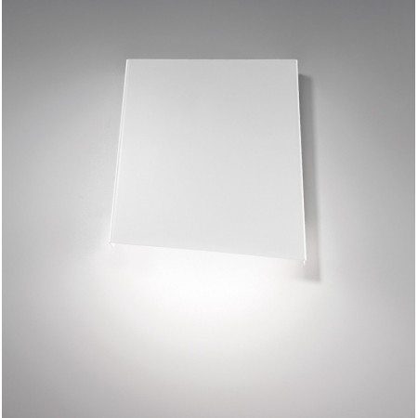 Rythmos Wall lamp in white painted aluminium