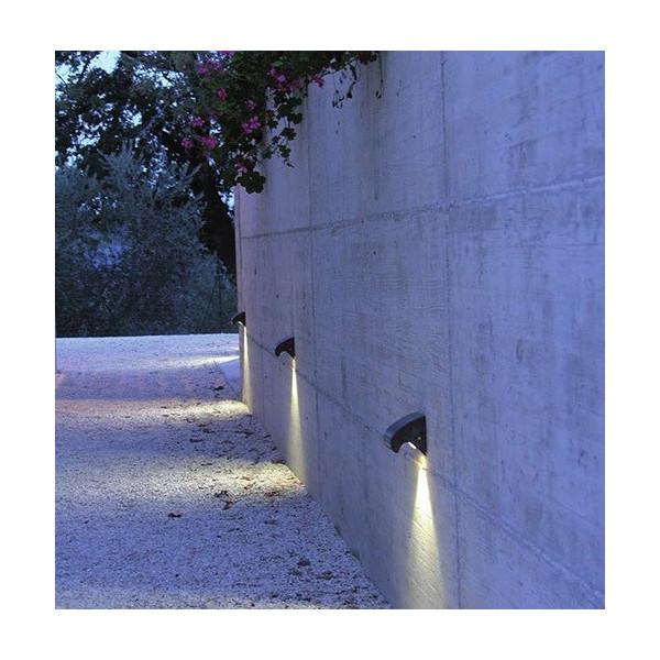 Pulcinella per esterno lampada da parete IP65 Led 1W