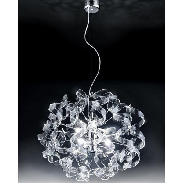 Astro Ø 50 Lampe à suspension cadre chromé 40W G9
