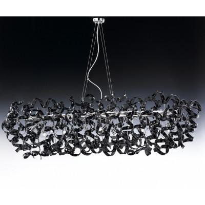 Metallux, ASTRO Ø 150X60 MONTATURA CROMO, Sospensione