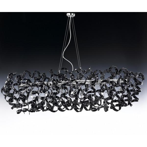 Astro Ø 150x60 Lampe à suspension cadre chromé 40W G9