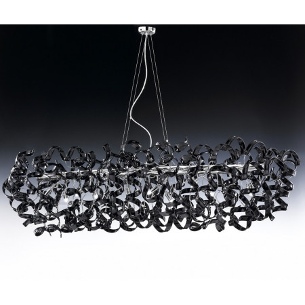 Astro Ø 150x60 Lampe à suspension cadre doré 40W G9