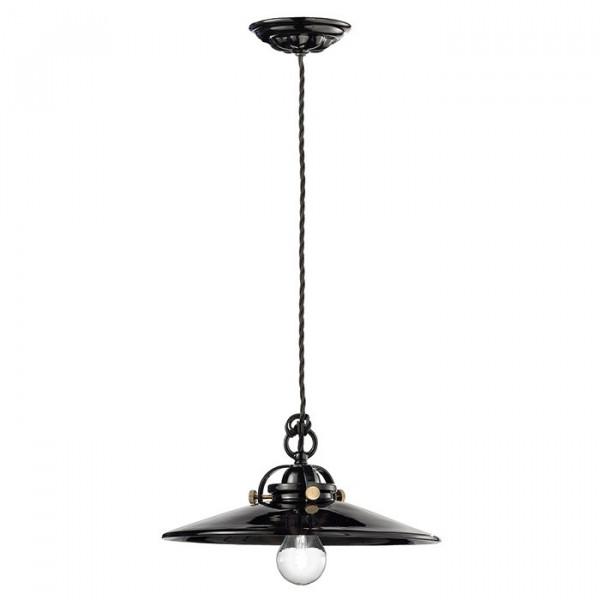 Lampe à Suspension Noir & Blanc C099 53W E27