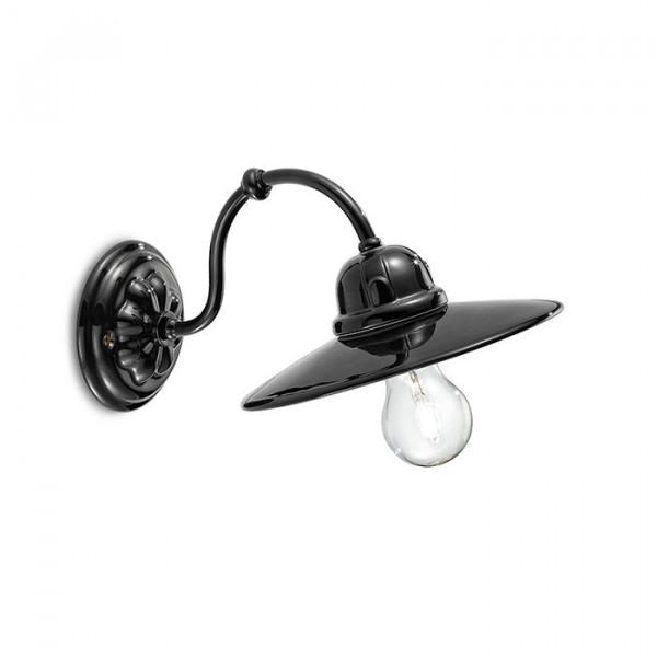 Applique C141 Noir & Blanc 77W E27