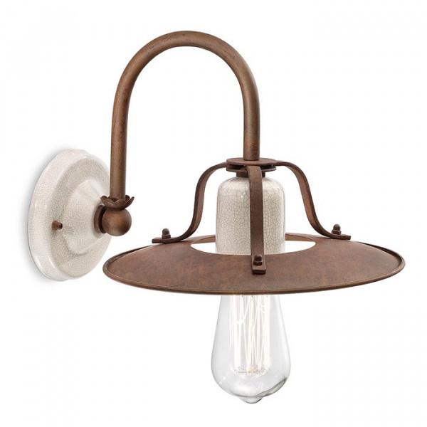Grunge C1430 lampada da parete 77W E27