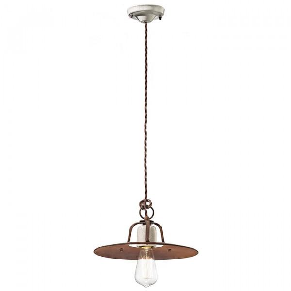 Grunge C1432 lampada a sospensione 77W E27