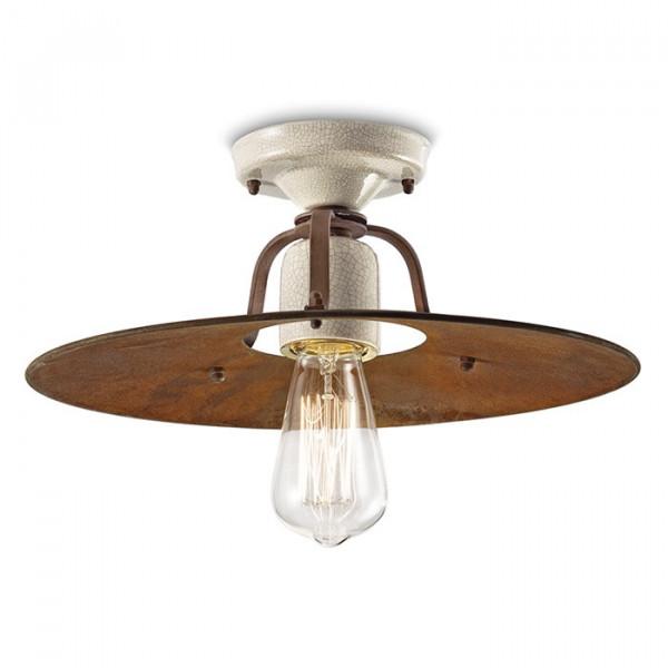 Grunge C1435 lampada da soffitto 77W E27