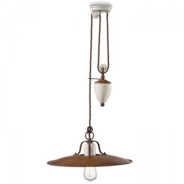 Grunge C1436 lampada a sospensione 77W E27